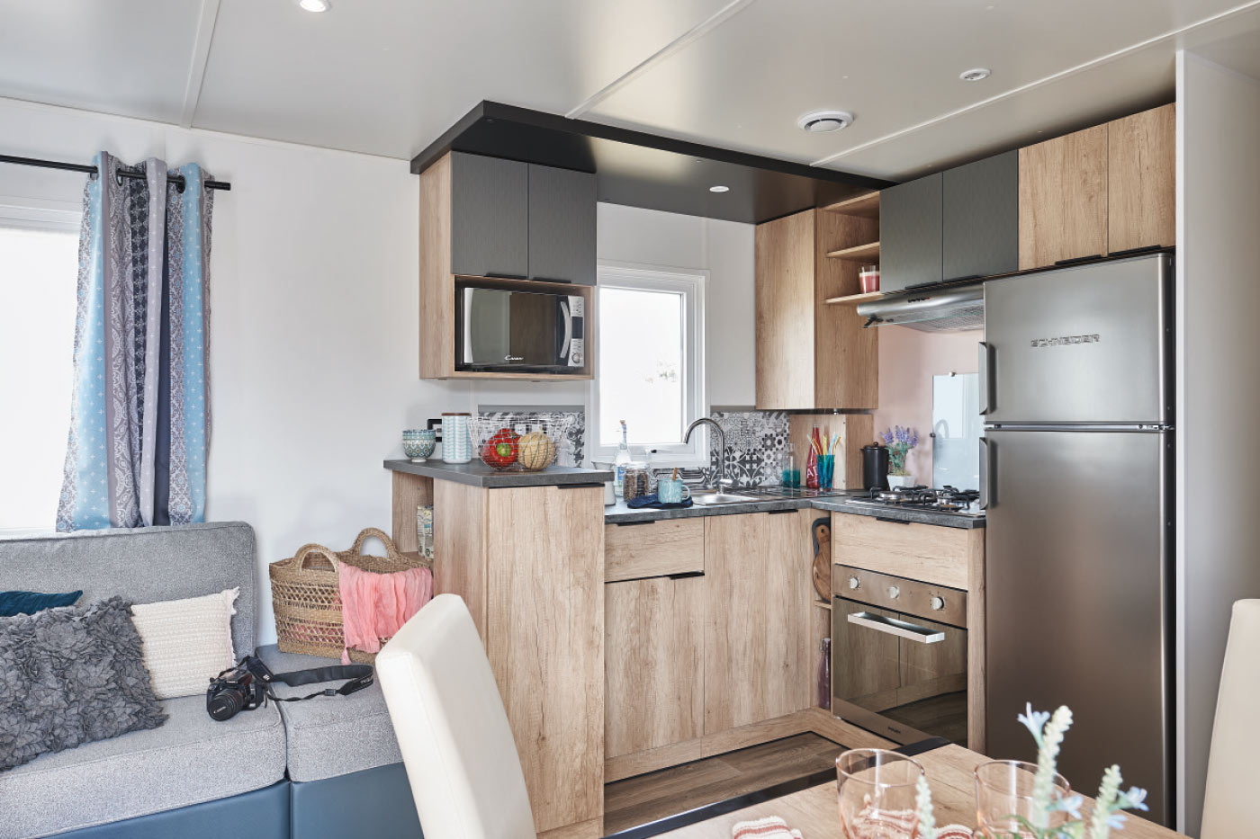 Gamme 2017 elite 100 rapidhome mobil home for Meuble cuisine elite