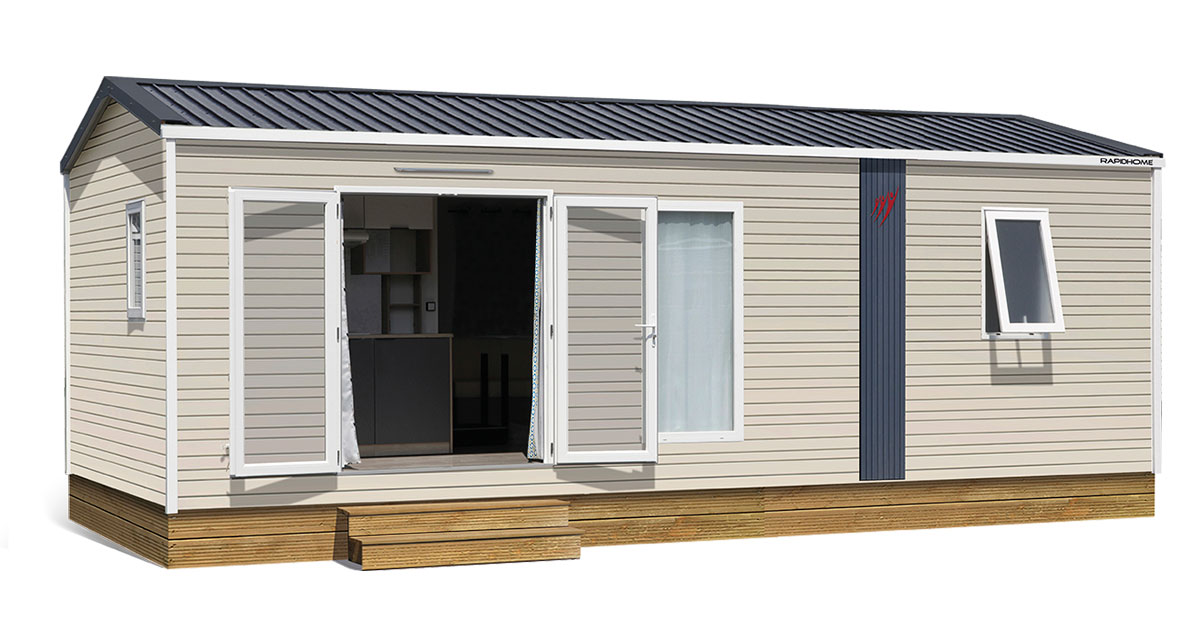 Collection 2019 Lodge Lo77 Rapidhome Mobil Home
