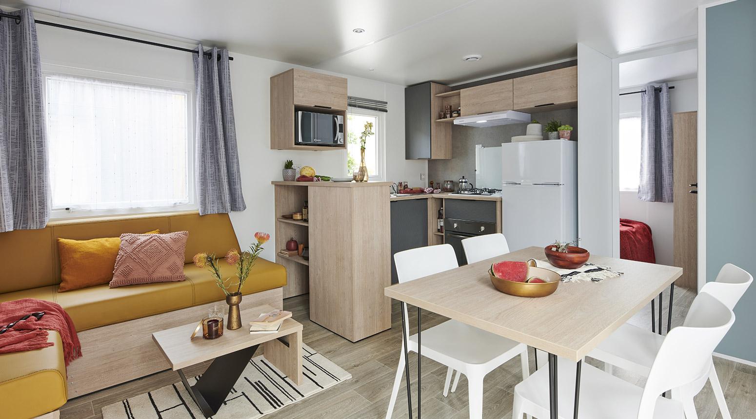 gamme 2017 lodge 872 rapidhome mobil home. Black Bedroom Furniture Sets. Home Design Ideas